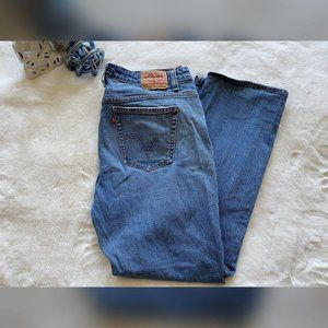 Women Levi's Boot Cut Jeans Size 20M